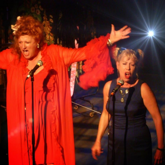 EVE FERRET with Hazel O'Connor