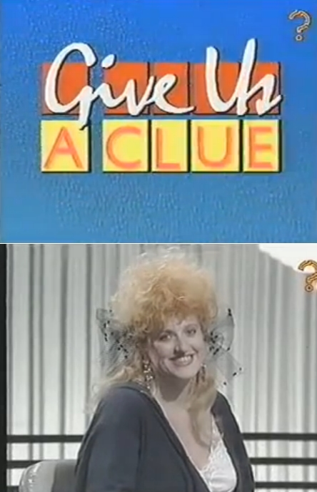 Eve Ferret - Give Us A Clue - TV Game Show 1989