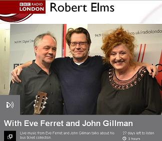 Listen The Robert Elms show with Eve Ferret on BBC London