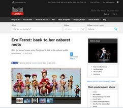 Eve Ferret - TimeOut 25 October 2013