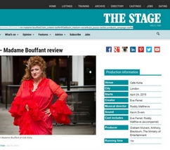 Eve Ferret - The Stage 27 April 2015